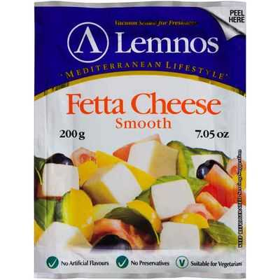 Lisa reviewed Lemnos Smooth Fetta Cheese