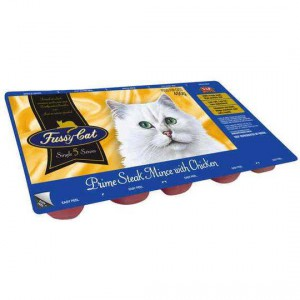 Vip Adult Cat Food Mince With Chicken