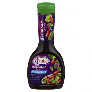 Praise Dressings Balsamic Italian Fat Free