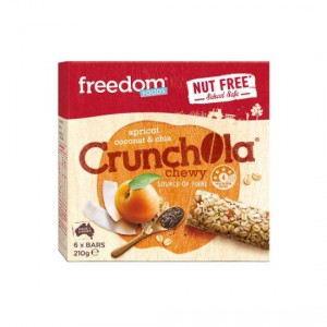 Freedom Foods Bars Nut Free Chewy Apricot