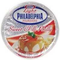 Kraft Lite Sweet Chilli Philadelphia Pourovers