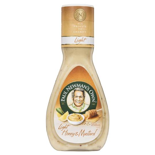 Paul Newmans Dressings Light Honey Mustard