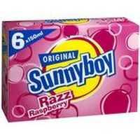 Sunny Boy Raspberry Ice Blocks