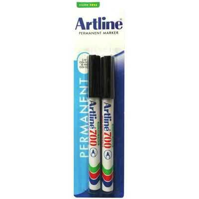 Artline Permanent Marker Black