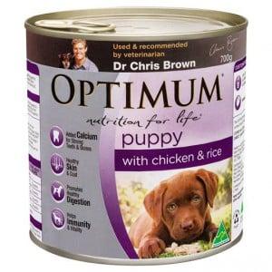 Optimum Puppy Food With Chicken & Rice