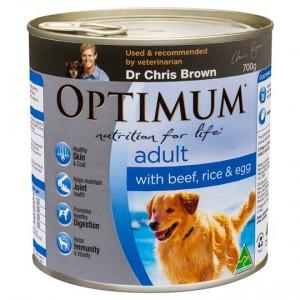 Optimum Adult Dog Food Beef Rice & Egg