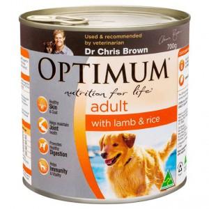 Optimum Adult Dog Food Lamb & Rice