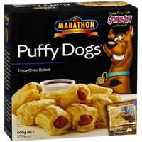 Marathon Sausage Roll Puffy Dogs