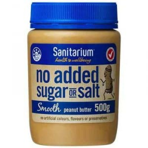 Sanitarium Smooth No Added Sugar Or Salt Peanut Butter