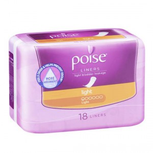 Poise Liners Light
