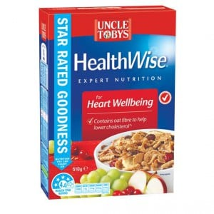 Uncle Tobys Healthwise Heart Wellbeing