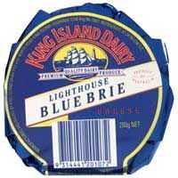 King Island Lighthouse Blue Brie Cheese