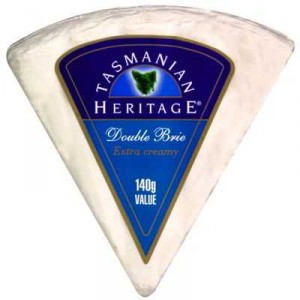 Tasmanian Heritage Double Brie Cheese