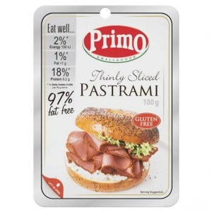 Primo Thin Sliced Pastrami