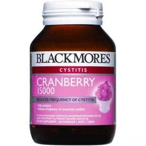Blackmores Cystitis Cranberry Capsules 15000mg