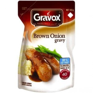 Gravox Gravy Mix Brown Onion