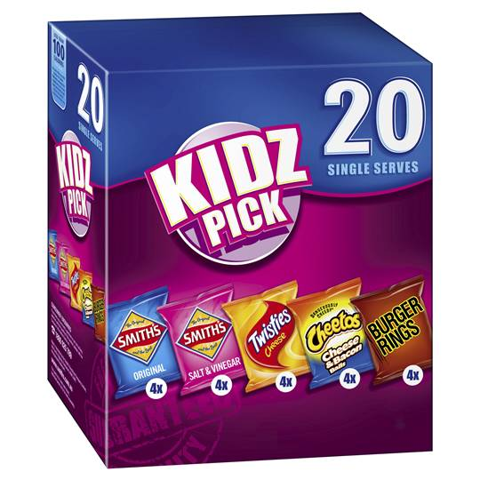 Smith's Chips Multipack Kidz Pick