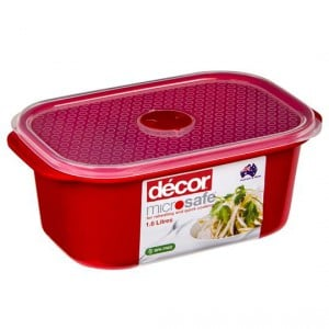 Decor Microsafe Container Oblong