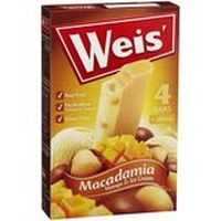 Weis Ice Cream Macadamia With Mango & Cream
