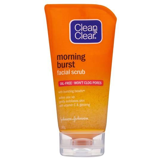 Clean & Clear Facial Scrub Morning Burst