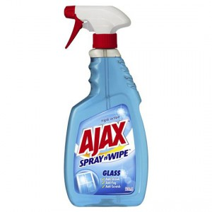 Ajax Spray N Wipe Glass Cleaner Trigger