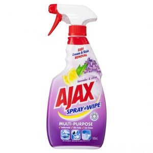 Ajax Spray N Wipe Multipurpose Lavender & Citrus Trigger