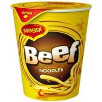 Maggi Beef Noodle Cup