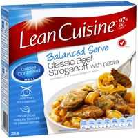 Lean Cuisine Balanced Serve Beef Stroganoff With Pasta