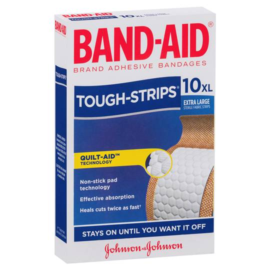 Band-aid Tough Strips Extra Large