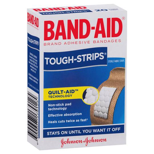 Band-aid Tough Strips Regular