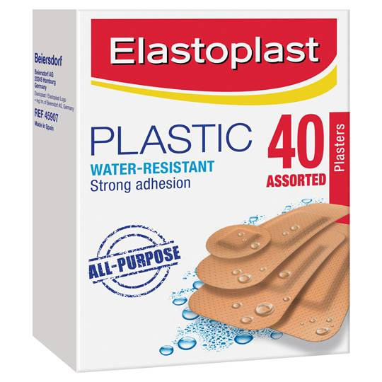 Elastoplast Plastic Strips Assorted