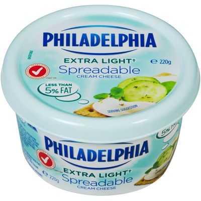Kraft Extra Lite Philadelphia Spread