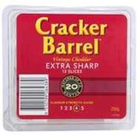 mummadoovs reviewed Cracker Barrel Extra Sharp Cheese Slices