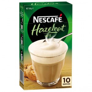 Nescafe Cafe Menu Hazelnut Latte