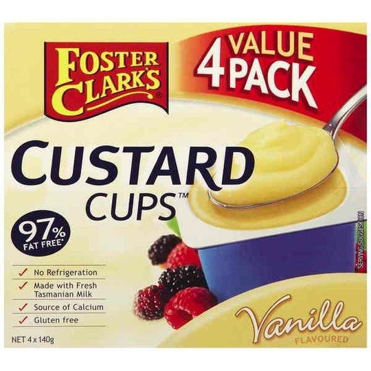 Foster Clarks Vanilla Custard