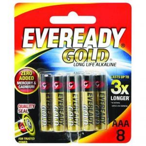 Eveready Gold Aaa Batteries