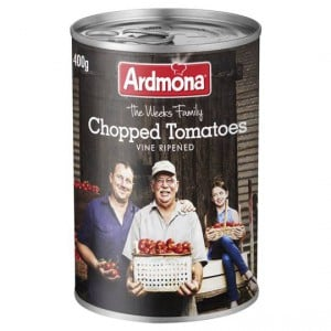 Ardmona Tomatoes Chopped No Added Salt