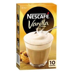 Nescafe Cafe Menu Vanilla Latte
