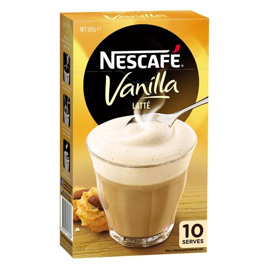 Nescafe Cafe Menu Vanilla Latte