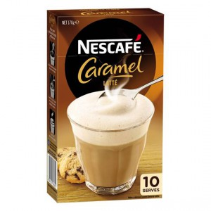Nescafe Cafe Menu Caramel Latte