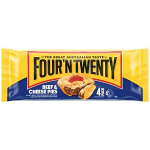 Four N Twenty Pies Beef & Cheese