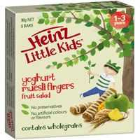 Heinz Little Kids Snack Fruit Salad Muesli Fingers