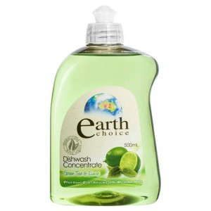 Earth Choice Dishwashing Liquid Green Tea & Lime