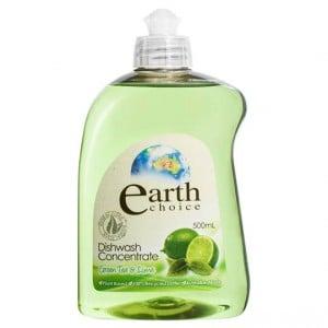Earth Choice Dishwashing Liquid Green Tea & Lime