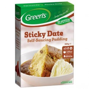 Greens Pudding Traditional Sticky Date