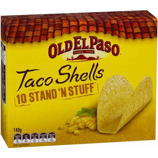 Old El Paso Taco Shells Stand N Stuff