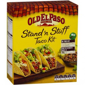 Old El Paso Stand N Stuff Dinner Kit