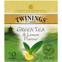 Twinings Green Tea & Lemon Bags