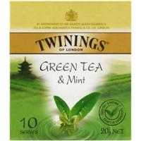 Twinings Green Tea & Mint Tea Bags