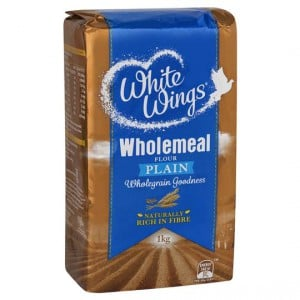 White Wings Plain Flour Wholemeal